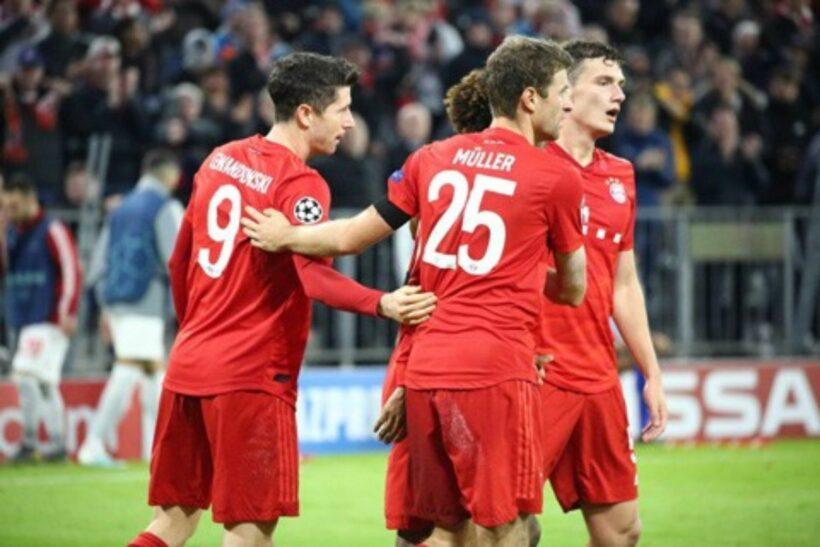 Bayern Munich tiếp tục phong độ vững vàng, vào vòng knock-out Champions League | News by Thaiger