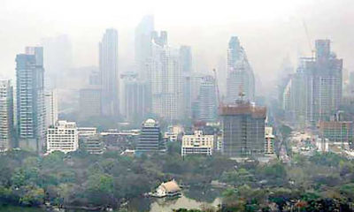 Bangkok 12th worst city for air quality in the world today   Thaiger