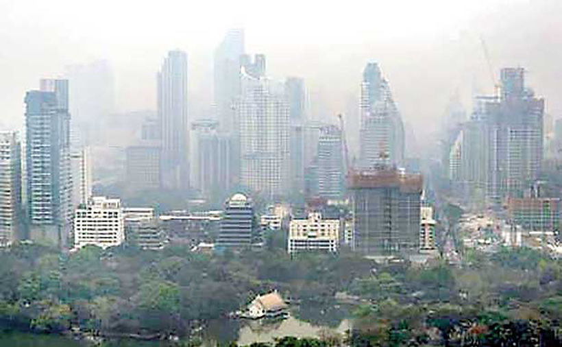 Bangkok 12th worst city for air quality in the world today | Thaiger