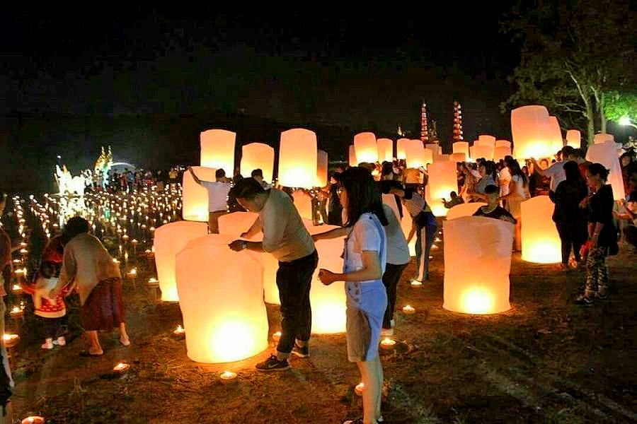 8,600 lanterns to be launched during Chiang Mai's Yi Peng festival