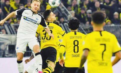 Highlight trận Dortmund vs. Padeborn: Dẫn trước 3 bàn vẫn cay đắng đội sổ | Thaiger