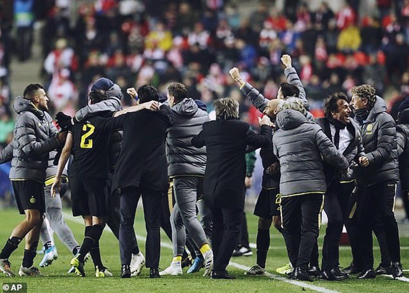 Cúp C1 - Slavia Praha vs. Inter Milan: Lukaku tỏa sáng giúp Inter sáng sủa con đường đi tiếp | News by Thaiger