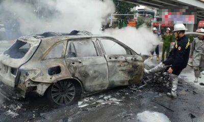 Vụ Mercedes tông liên hoàn: Nữ sinh thoát chết vẫn chưa hết bàng hoàng | Thaiger