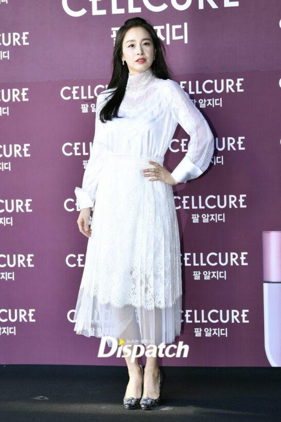 Mẹ 2 con đẹp nhất châu Á Kim Tae Hee lần đầu lộ diện sau khi sinh con   News by Thaiger