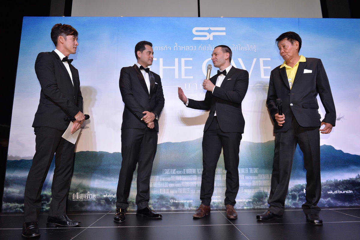 Cave rescue movie opens today around Thailand | News by Thaiger