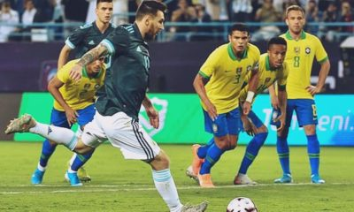 Messi thị uy sức mạnh, Argentina dằn mặt Brazil   The Thaiger