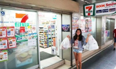 No more plastic bags at some 7 Eleven stores starting Monday | Thaiger