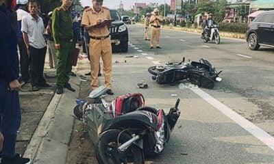 Hà Tĩnh: Ô tô tông hai xe máy làm một người chết | Thaiger