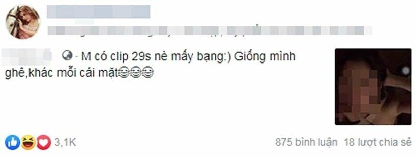 Hotgirl Trang Nemo bị đồn lộ clip sex 29 giây   News by Thaiger