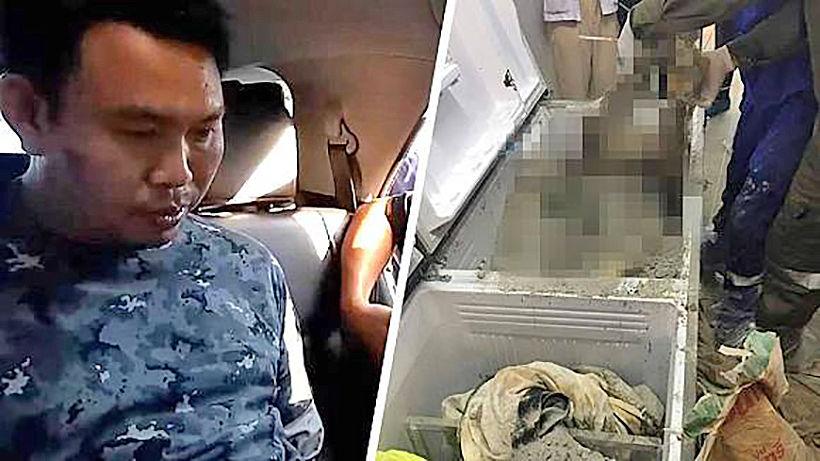 "Suspect confesses in ""refrigerator murder"" case   News by Thaiger"