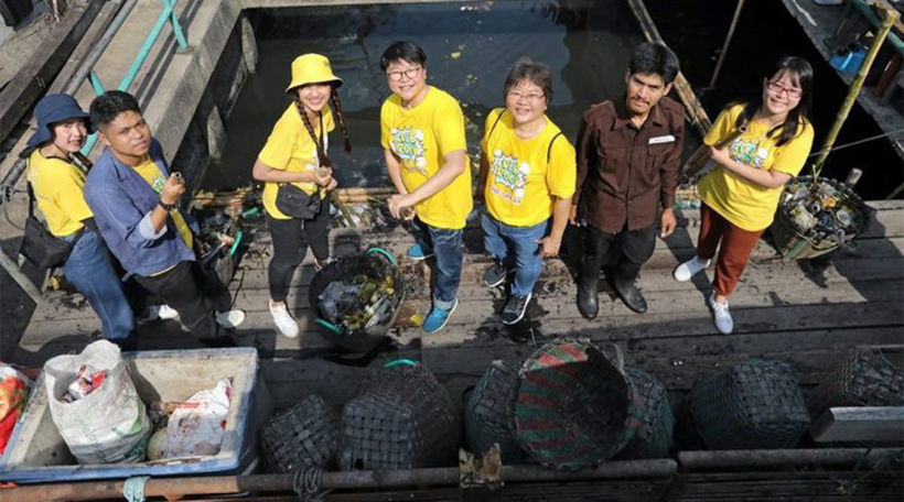 80% of garbage in the sea comes from the waterways of Thailand's cities and towns | News by The Thaiger