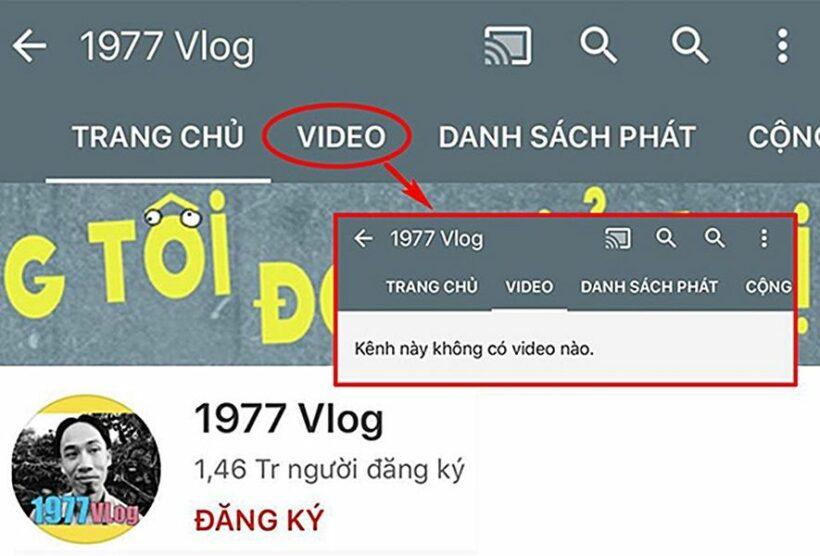 1977 Vlog mất toàn bộ video trên YouTube: Chuyện gì đã xảy ra? | News by Thaiger