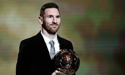 Messi vượt qua Van Dijk, Ronaldo để sở hữu Quả bóng vàng thứ 6 | The Thaiger