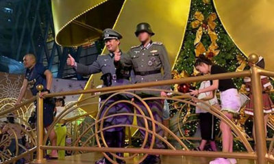 """Central """"deeply appalled"""" by Nazi pics at their Christmas display 