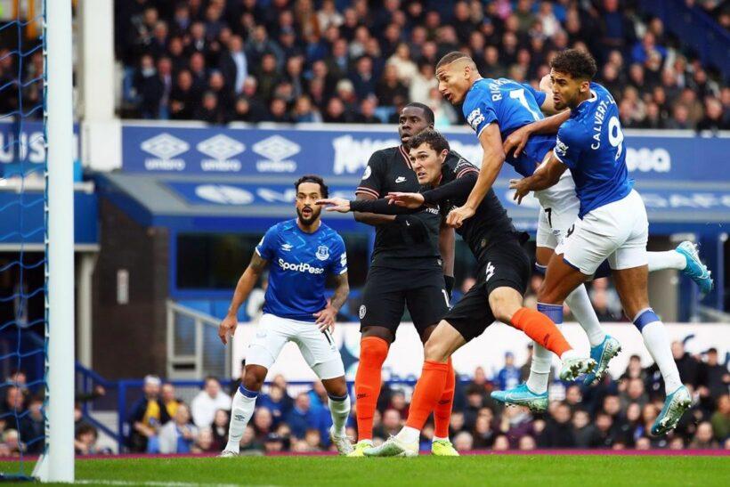 Trận đấu Everton vs. Chelsea: Đội khách thua thảm   News by Thaiger