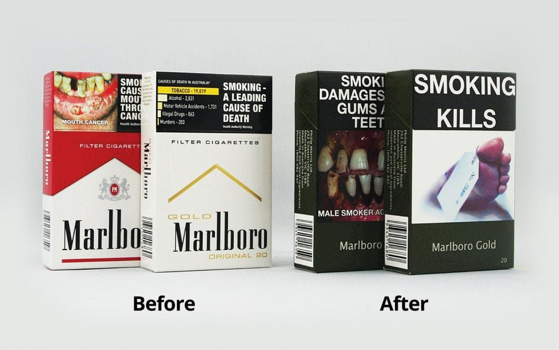 "Thailand introduces ""plain"" tobacco packaging 