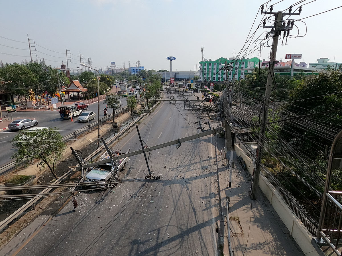 Late night party blamed for major road incident east of Bangkok | News by Thaiger