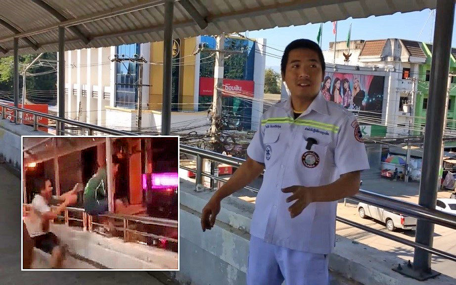 Chiang Mai rescue worker disguises himself to thwart student suicide - The Thaiger