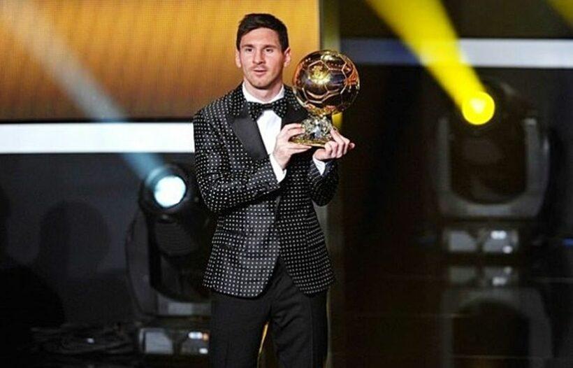 Nhìn lại 6 lần nâng cao danh hiệu Quả bóng vàng của Lionel Messi | News by Thaiger