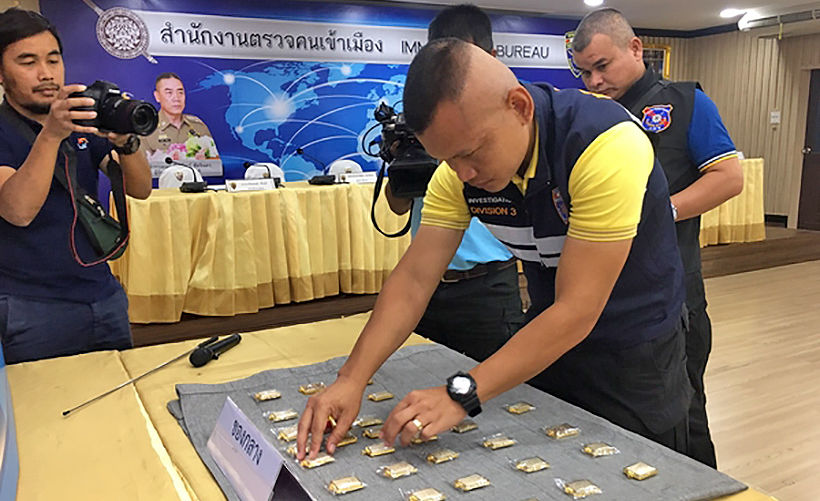 Chonburi police arrest nine Chinese nationals for alleged amulet scam   News by Thaiger