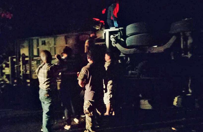 4 dead, 47 injured in Loei bus crash   News by Thaiger