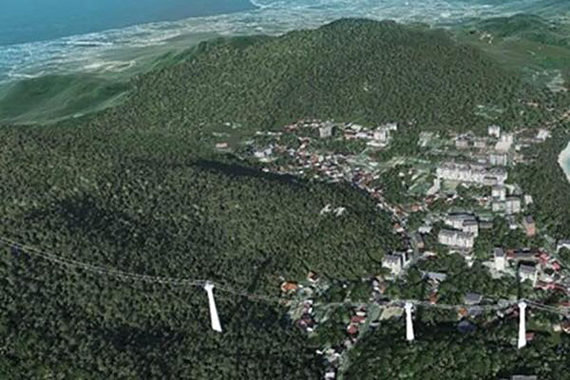 Phuket Sky Way cable car will provide tourists with a new view of the island   News by Thaiger