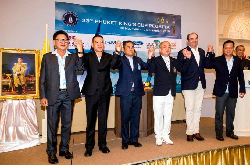 The 33rd Phuket King's Cup Regatta runs to December 7 | News by Thaiger
