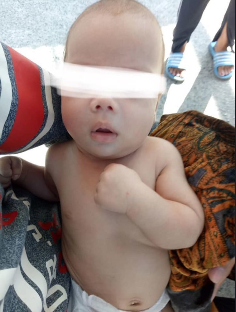 Baby dumped on the steps of a bank in Rawai, Phuket   News by Thaiger