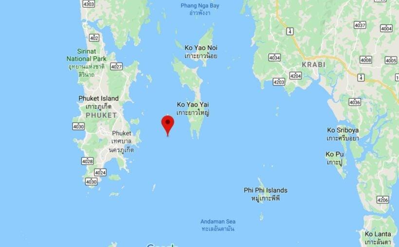 Boat crash near Koh Kai off Phuket - four injured   News by Thaiger