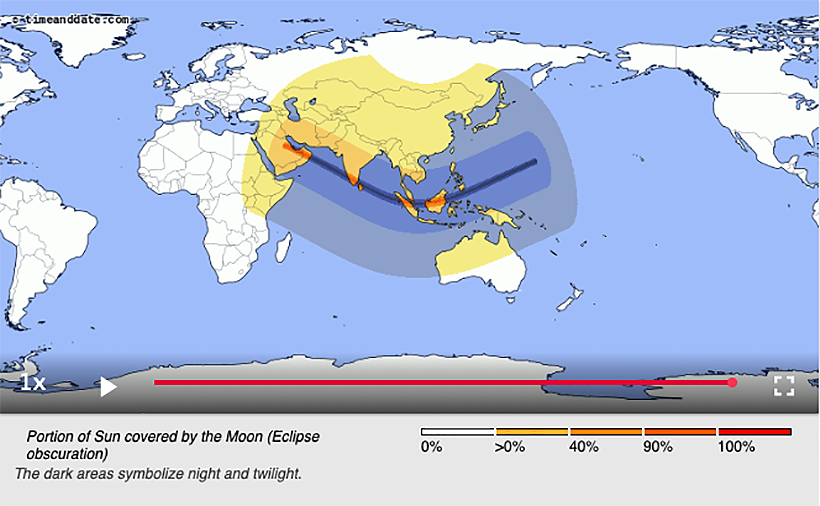 On Boxing Day the skies will go dark across Thailand - solar eclipse | News by Thaiger