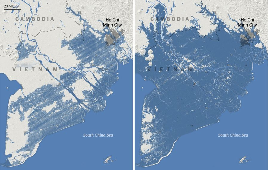 New research poses grim projections for world's coastal cities | News by Thaiger