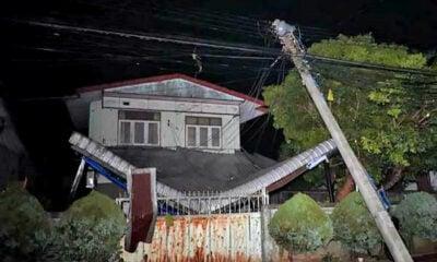 Freak hailstorm causes blackouts, damages homes in Chiang Rai | Thaiger