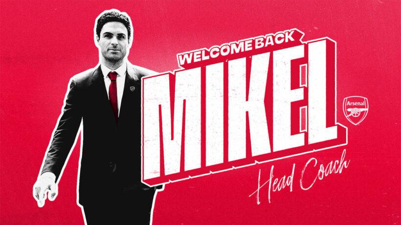 Mikel Arteta chính thức trở thành tân HLV trưởng của Arsenal | News by Thaiger