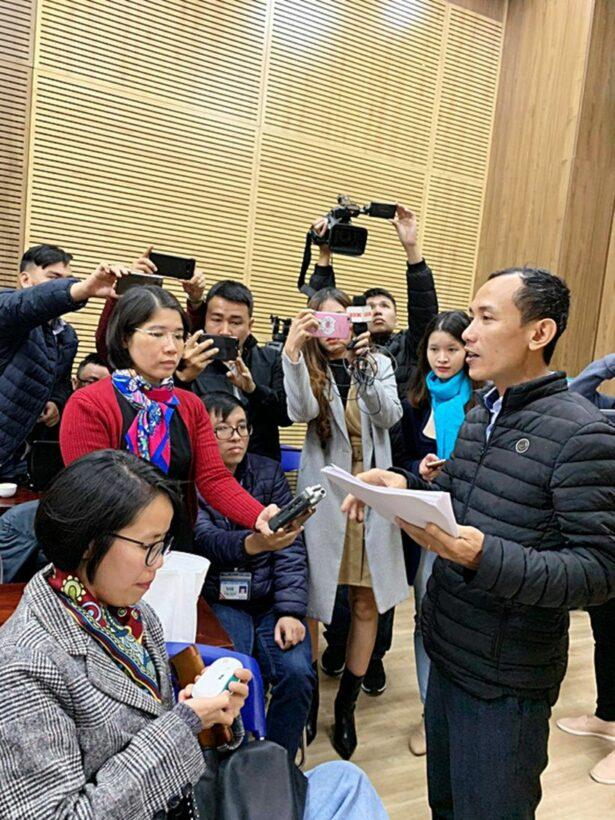 Hà Nội: Bệnh viện Xanh Pôn lòng vòng trong việc trả lời vụ gian lận xét nghiệm | News by Thaiger
