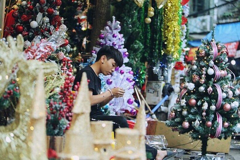 Hà Nội lung linh sắc màu Giáng Sinh | News by Thaiger