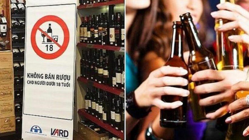 Bắt đầu từ 1/1/2020 sẽ cấm bán rượu, bia cho người chưa đủ 18 tuổi   News by Thaiger