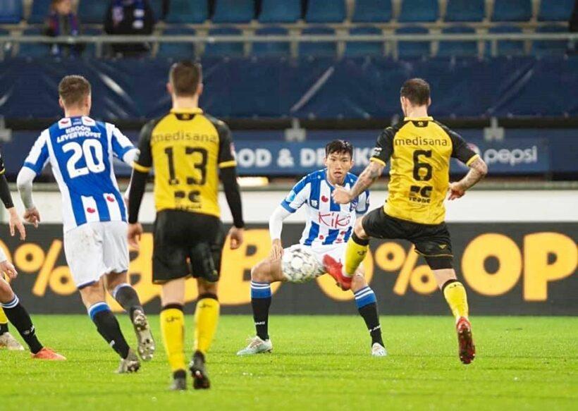Văn Hậu lần đầu thi đấu cho đội một Heerenveen gây sốt | News by Thaiger