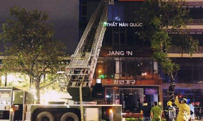 Đà Nẵng: Cháy cửa hàng nội thất, 6 người bị mắc kẹt | The Thaiger