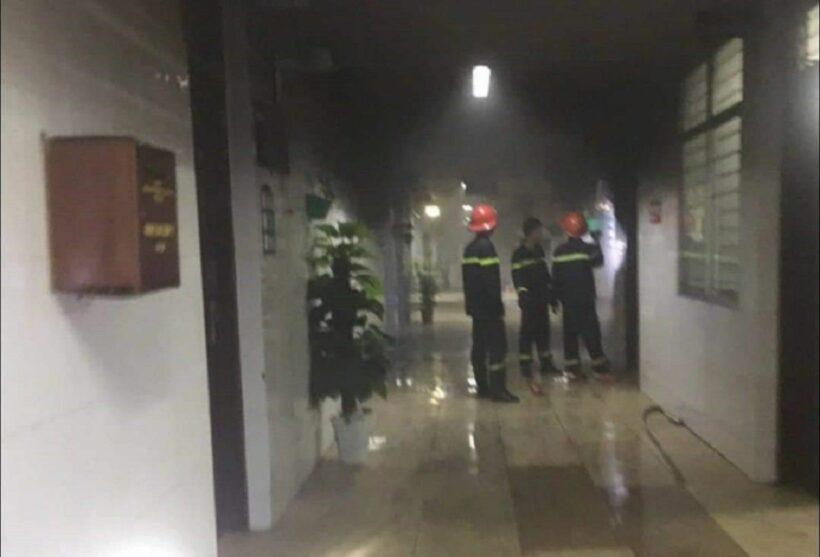 Một bệnh nhân đốt bệnh viện gây náo loạn và làm hỏng hóc nhiều thiết bị | News by Thaiger