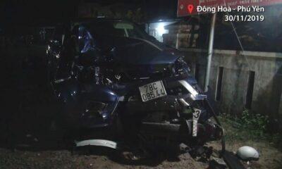 Vụ tai nạn gây chết 4 người tại Phú Yên: Tài xế ô tô bán tải say xỉn, không có bằng lái! | Thaiger