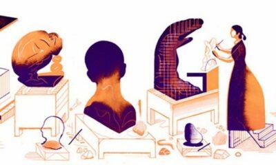 """Người được Google Doodle vinh danh hôm nay: """"Nàng thơ"""" Camille Claudel chết trong cô độc   The Thaiger"""
