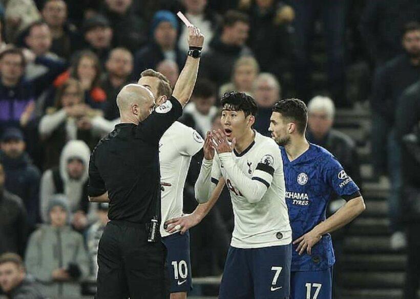 Tottenham kháng cáo bất thành thẻ đỏ của Son Heung-min   News by Thaiger