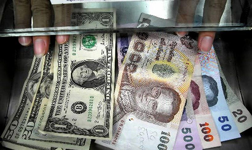 Thai Baht Hits Highest Level Against