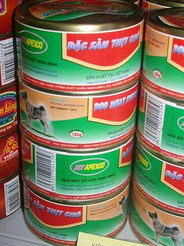 Sự thật hình ảnh thịt chó đóng hộp được sản xuất tại Ninh Bình gây bức xúc | News by Thaiger