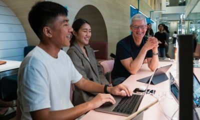 Apple's Tim Cook drops into Bangkok during Asia tour | Thaiger