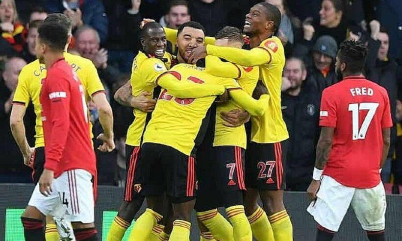 Man Utd thất bại 0-2 trên sân Watford   News by Thaiger