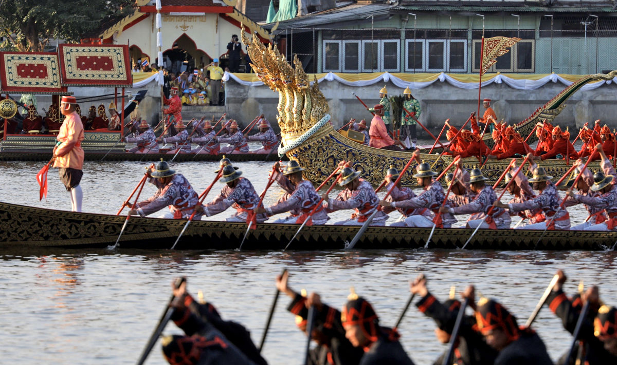 Chao Phraya welcomes the Royal Barge Procession in perfect Bangkok weather | The Thaiger