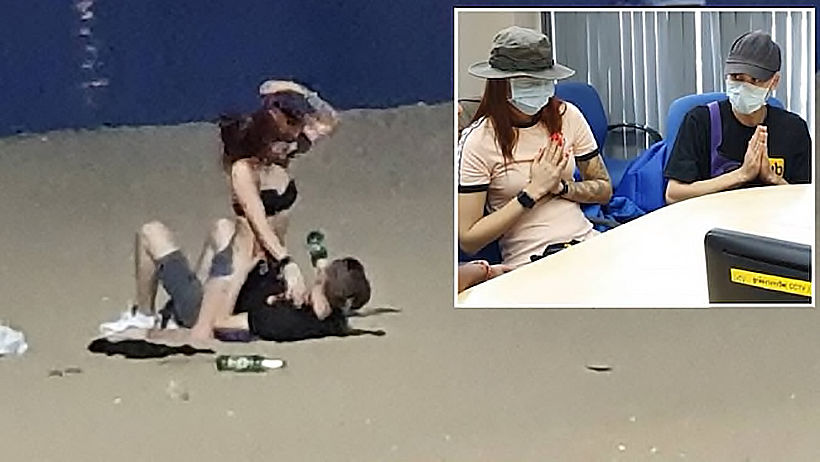 Russian couple apologise for having sex on Pattaya beach, but... | News by Thaiger