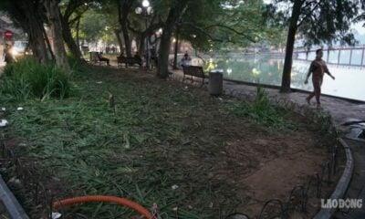 Hồ Gươm tan hoang sau màn countdown chào năm mới | The Thaiger