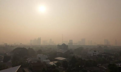 Poor air quality dogs the capital, even before the morning's traffic starts | Thaiger